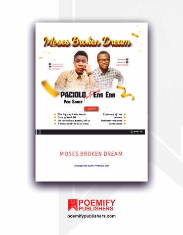Moses Broken Dream, Poemify Bookstore