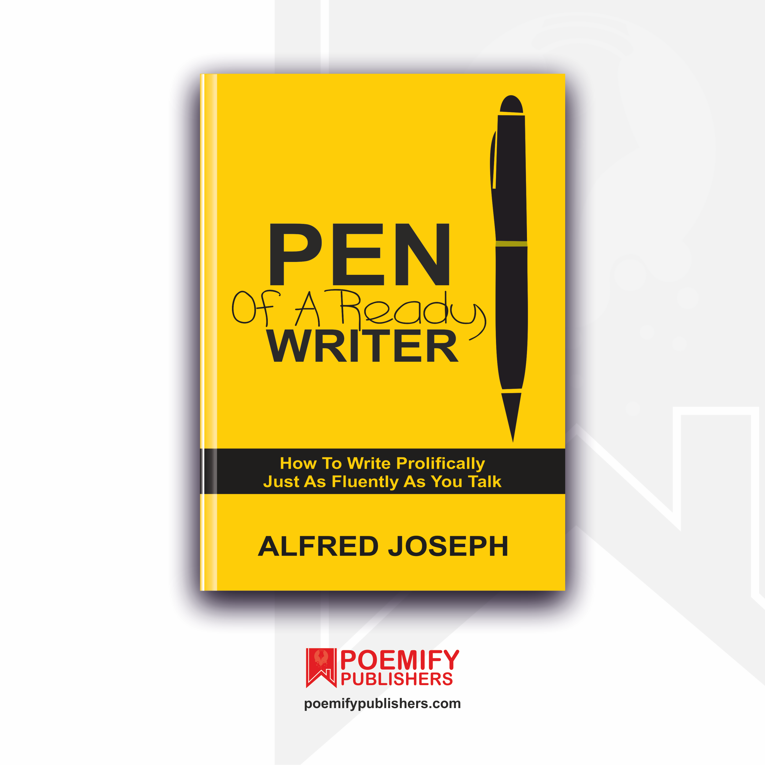Pen Of A Ready Writer Poemify Bookstore