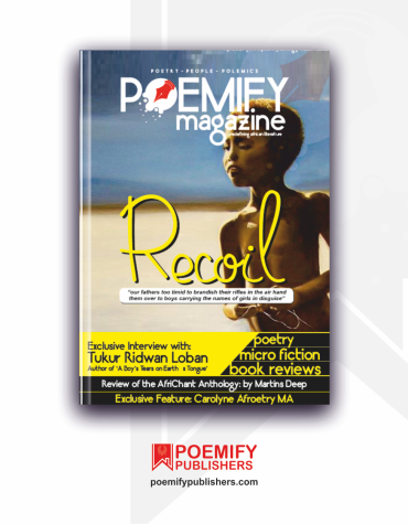 Poemify Publishers Poemify Magazine Maiden Edition Recoil